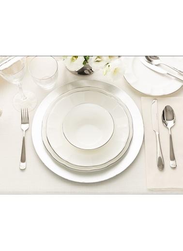 Madame Coco Fontanne 16 Parça Yemek Takımı - Platin Gümüş